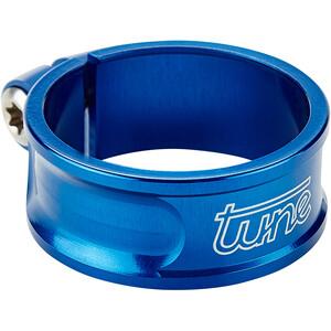Tune Schraubwürger Sattelstützenklemme Ø34,9mm blue blue