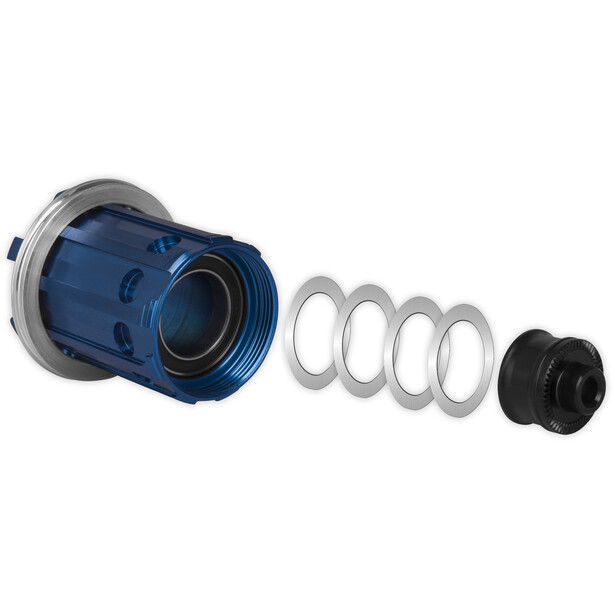 Tune Skyline Freilaufkörper Umrüstkit Ø17mm 10-fach Shimano blue