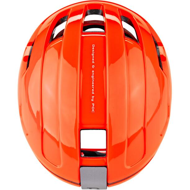 POC POCito Omne Spin Helm Kinder fluorescent orange
