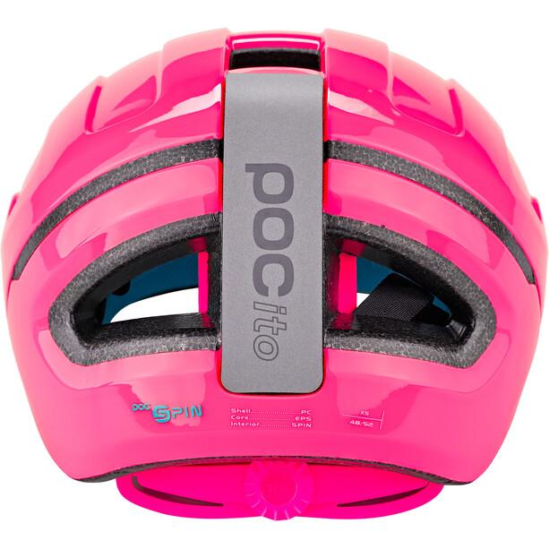 POC POCito Omne Spin Helmet Kids fluorescent pink