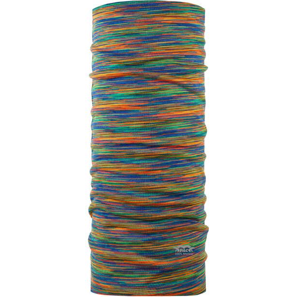 P.A.C. Merino Multifunktionales Schlauchtuch multi rainbow