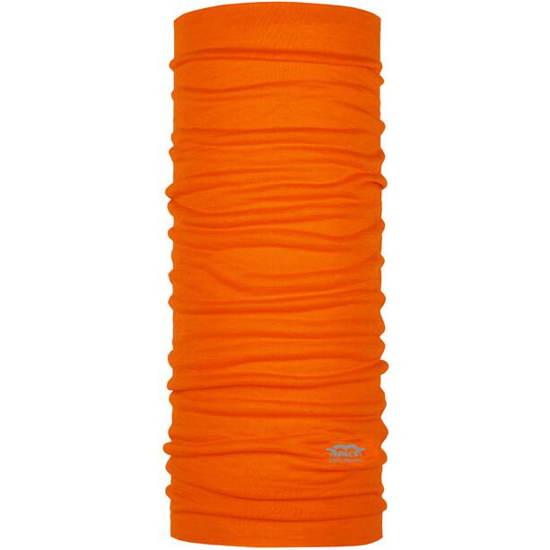 P.A.C. Merino Multifunktionales Schlauchtuch bright orange