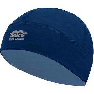 P.A.C. Merino Mütze blau blau