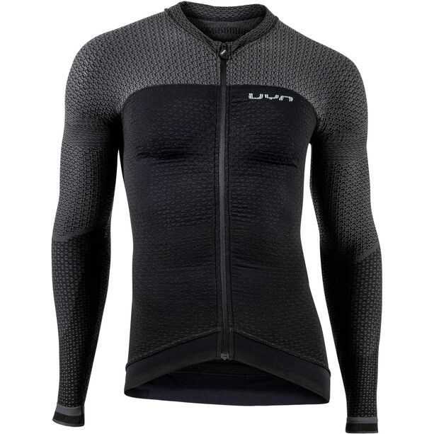 UYN Biking Alpha OW LS Shirt Men blackboard/charcoal