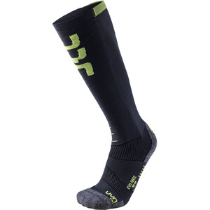 UYN Evo Race Ski Socken Herren anthracite/green lime anthracite/green lime