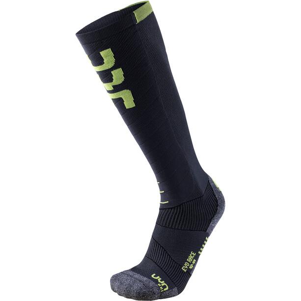 UYN Evo Race Ski Socken Herren schwarz