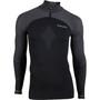UYN Running Alpha OW Langarm Zip-Up Shirt Herren blackboard/charcoal
