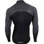 UYN Running Alpha OW LS Zip-Up Shirt Men, blackboard/charcoal