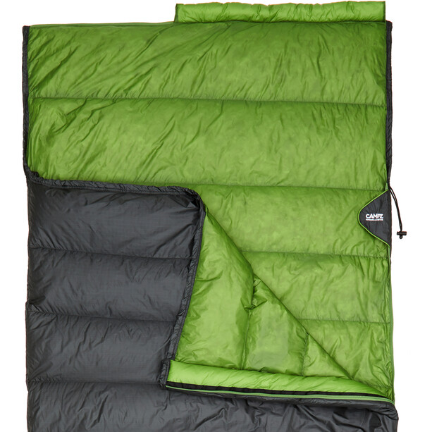 CAMPZ Surfer light 265 Down Makuupussi, anthracite/green