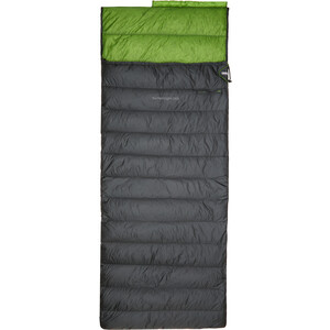 CAMPZ Surfer light 265 Down Schlafsack anthracite/green anthracite/green