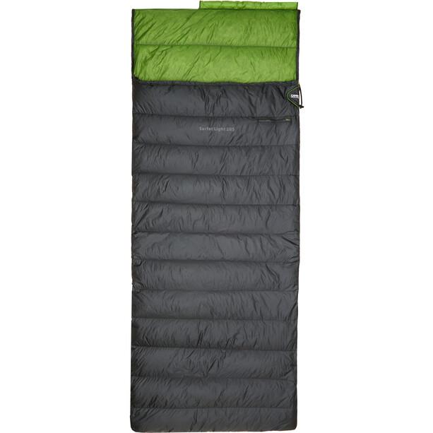 CAMPZ Surfer light 265 Down Sleeping Bag anthracite/green