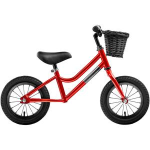 "Creme Micky Bicicleta sin pedales 12"" Niños, rojo rojo"