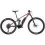 """Ghost Hybride SL AMR S6.7+ LC 29/27.5+"""" titanium gray/riot red/star white"""