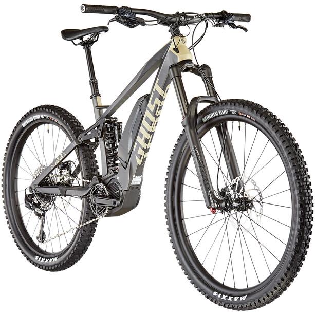 "Ghost Hybride SL AMR X S5.7+ LC 29/27.5+"" titanium gray/classic tan/urban gray"