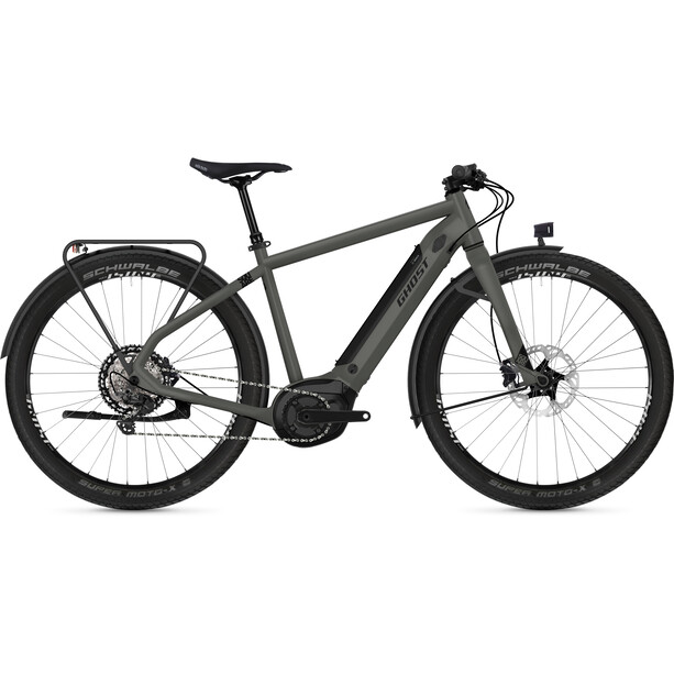 "Ghost Hybride Square Travel B4.7+ AL 27,5"", rock/jet black"