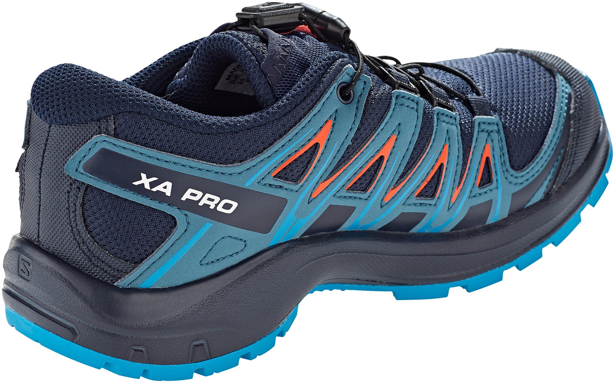 Salomon XA Pro 3D CSWP Shoes Barn navy blazermallard bluehawaiian surf