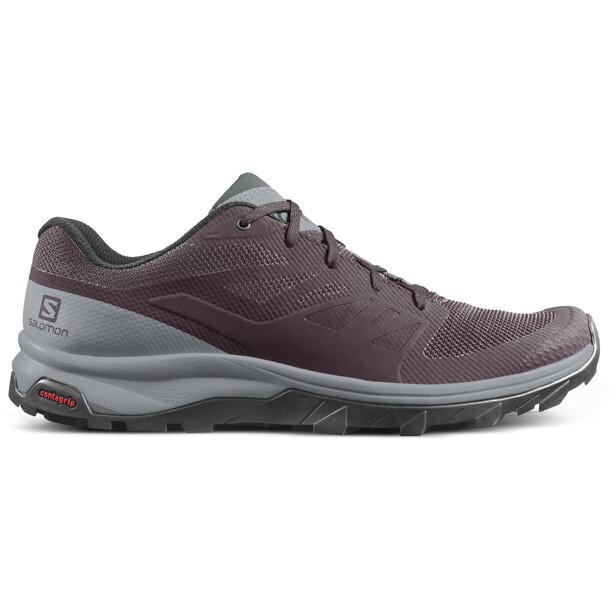 Salomon OUTline Shoes Dam winetasting/quarry/green gables