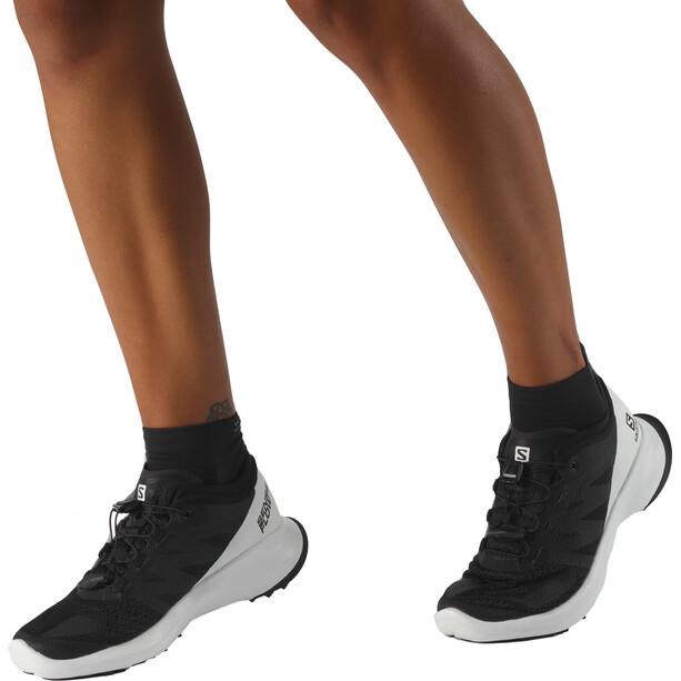 Salomon Sense Flow Shoes Dam black/white/black