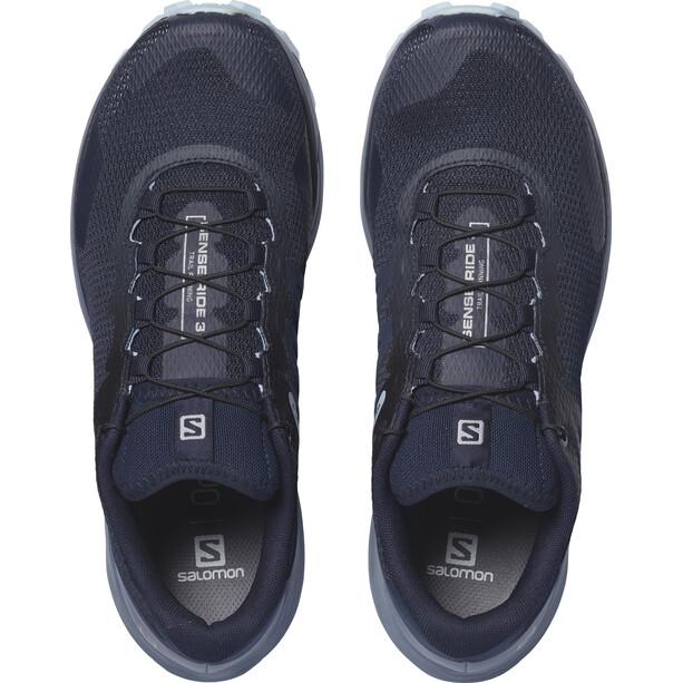 Salomon Sense Ride 3 Shoes Dam navy blazer/flint stone/angel falls