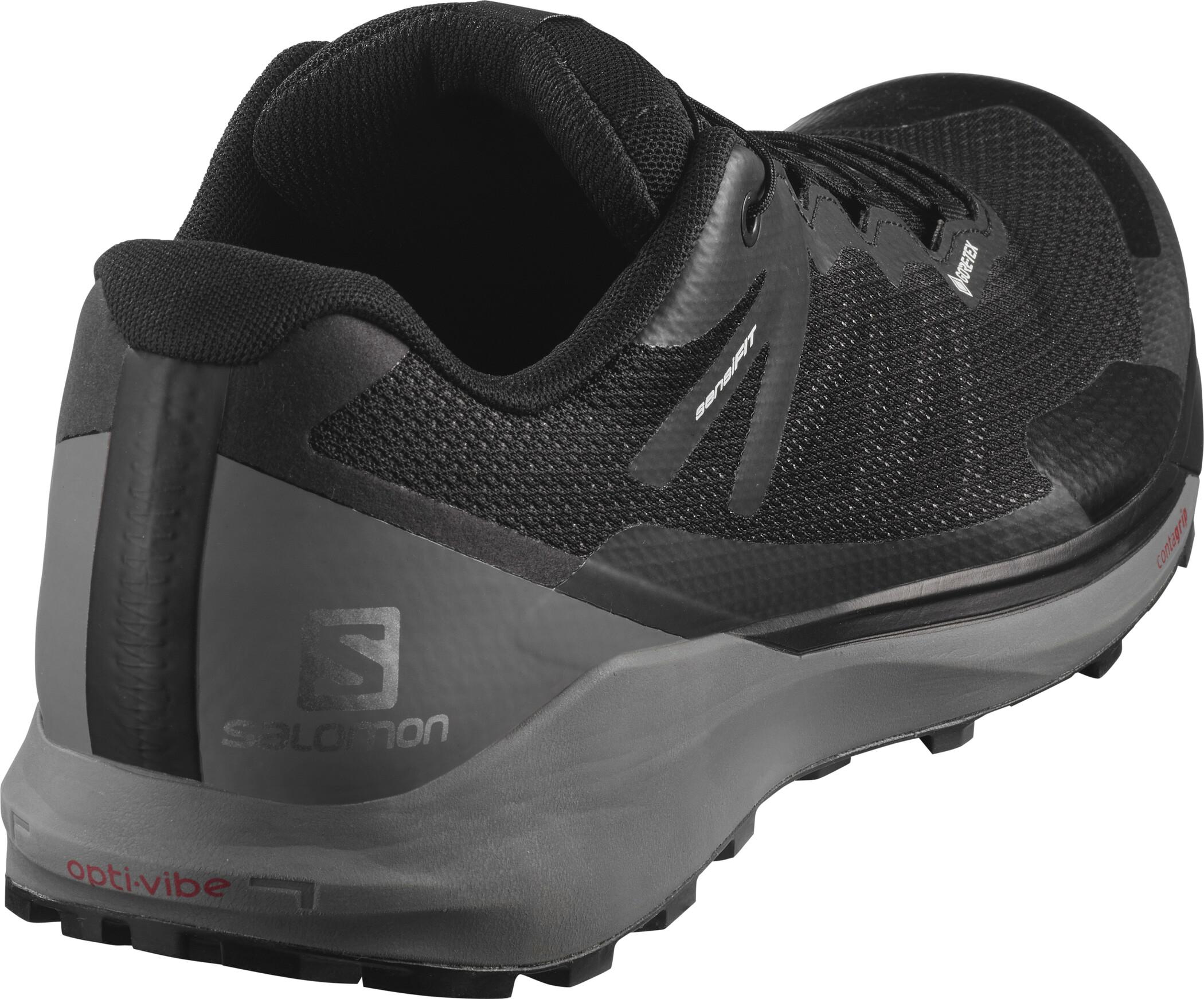 Salomon Sense Ride 3 GTX Shoes Herr blackquiet shademagnet