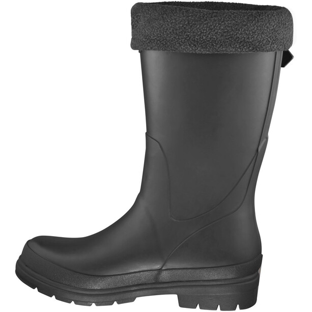 Viking Footwear Vendela Fleece Sock Rubber Boots Barn black