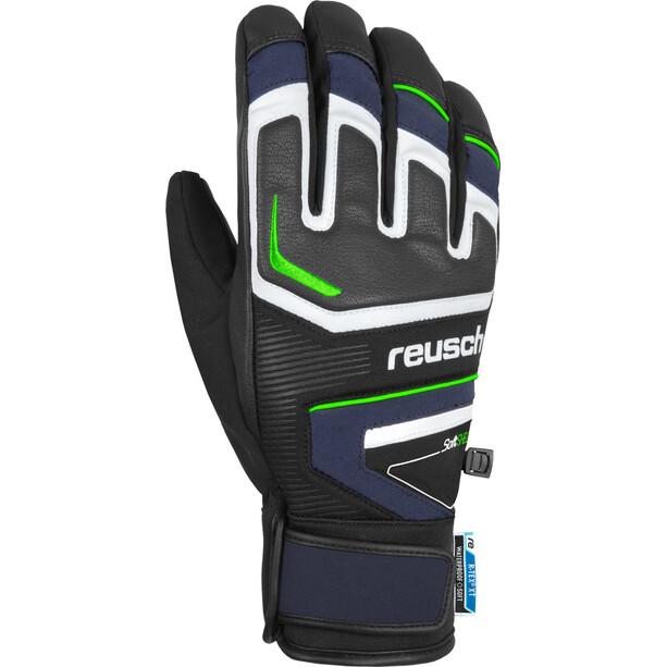 Reusch Thunder R-TEX XT Handschuhe dress blue/neon green