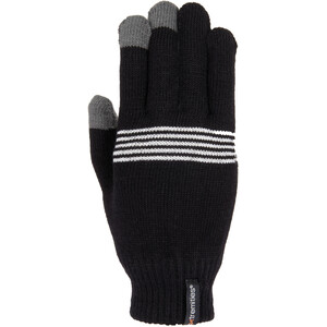 Extremities Thinny Touch Reflective Gloves black/reflective black/reflective