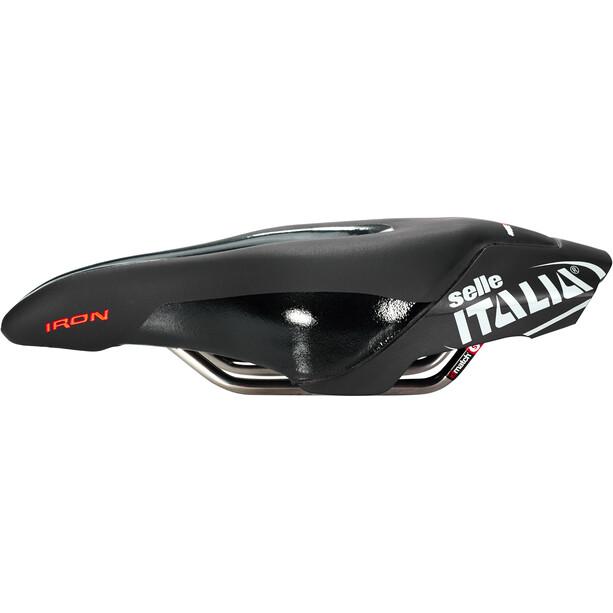 Selle Italia Iron EVO Superflow HD Sattel black