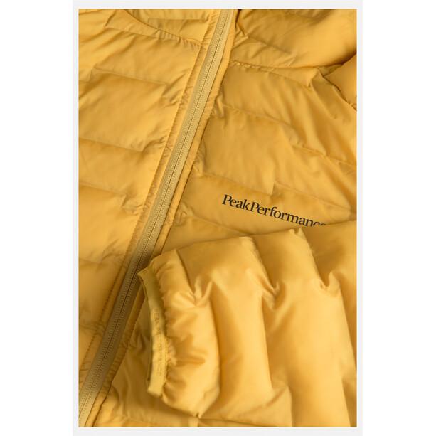 Peak Performance Argon Light Hood Jacket Herr Smudge Yellow