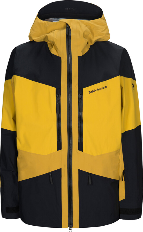 Peak Performance Gravity Jacket Herr Yellow Flow S 2019 Skidjackor