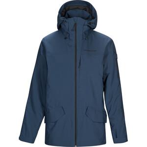 Peak Performance Maroon Long Jacket Herr Decent Blue Decent Blue