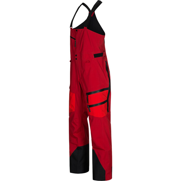 Peak Performance Vertical Pants Herr Dark Chilli