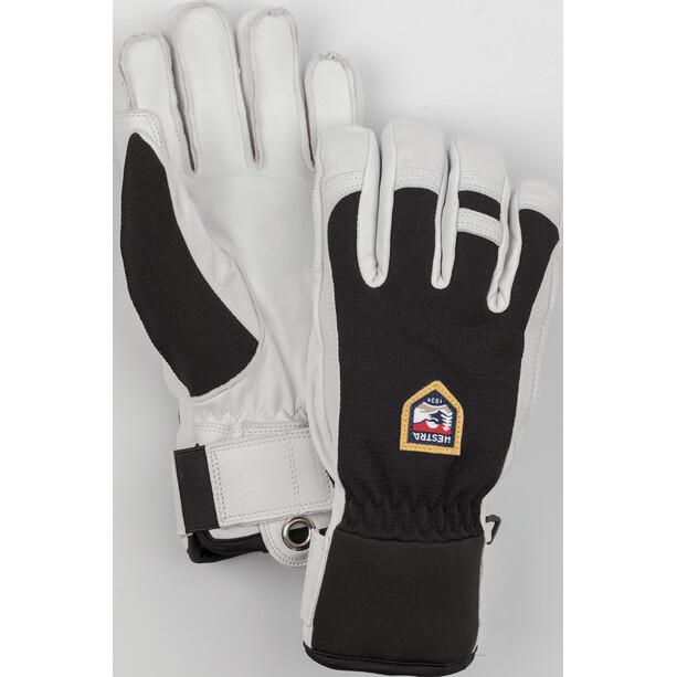 Hestra Army Leather Patrol 5 Finger Handschuhe schwarz