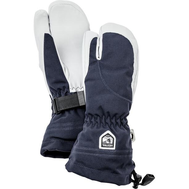 Hestra Heli Ski 3 Finger Handschuhe Damen blau