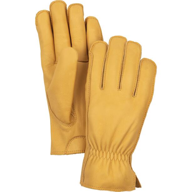 Hestra Dakota 5-Finger Handschuhe tan