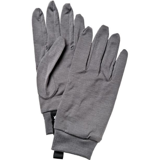 Hestra Merino Wool Innenhandschuhe dark grey