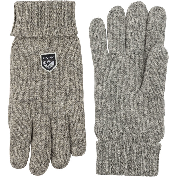 Hestra Basic Wool Handschuhe grey