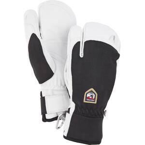 Hestra Army Leather Patrol 3-Finger Gloves black black