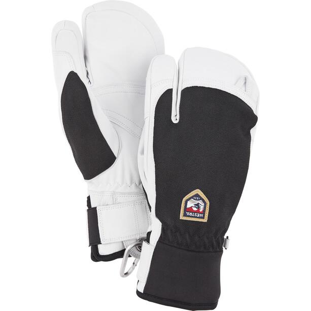 Hestra Army Leather Patrol 3-Finger Gloves black
