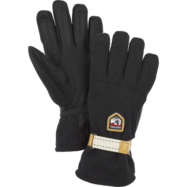 Hestra Windstopper Tour 5-Finger Gloves black