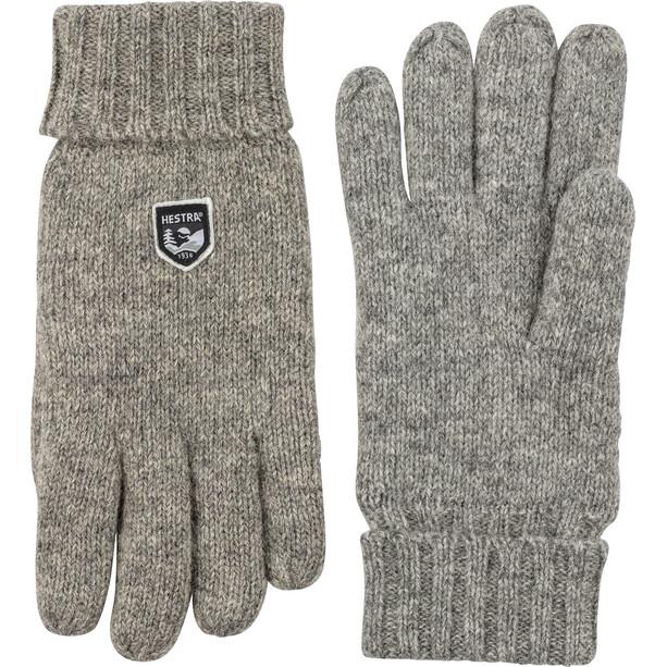 Hestra Basic Wool Gloves grå