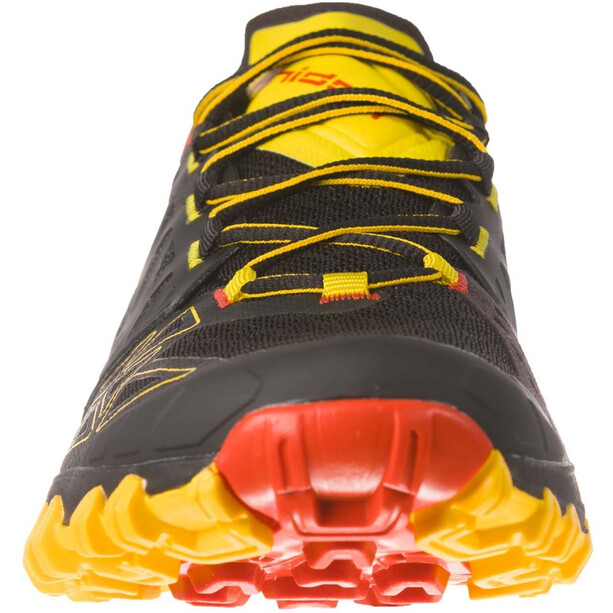 La Sportiva Bushido II Trail Running Shoes Herr black/yellow
