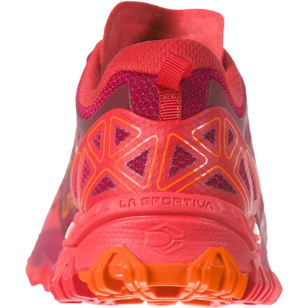 La Sportiva Bushido II Trail Running Shoes Dam beet/garnet
