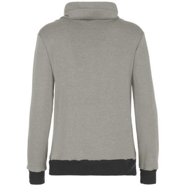 E9 Poppy Fleece Hoodie Dam Melange Grey