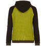 E9 Bolla Knit Hoodie Herr Olive