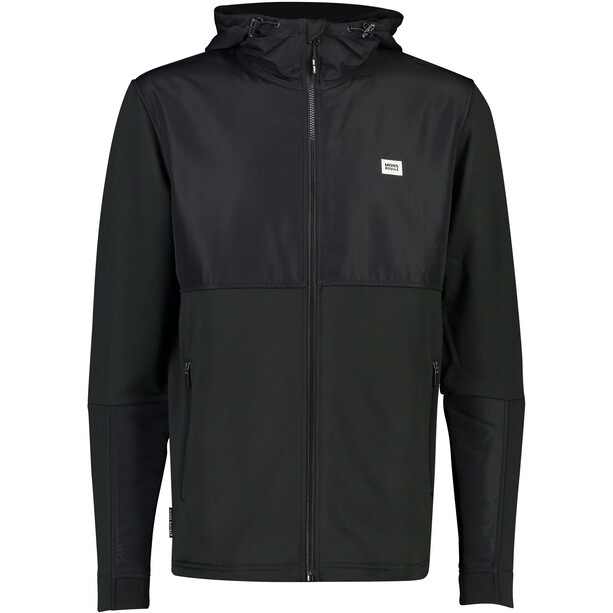 Mons Royale Decade Tech Mid Hoody Herr Black