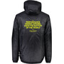 Mons Royale Nordkette Insulation Hood Jacket Herr Black