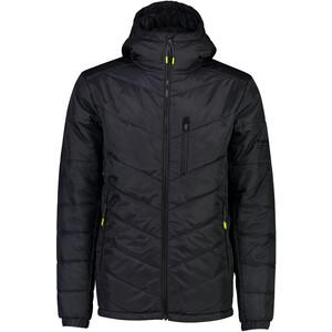 Mons Royale Nordkette Insulation Hood Jacket Herr Black Black