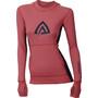 Aclima WarmWool Kapuzensweater Damen calypso coral/peacoat