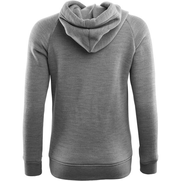 Aclima WoolFleece Hoodie Dam Grey Melange